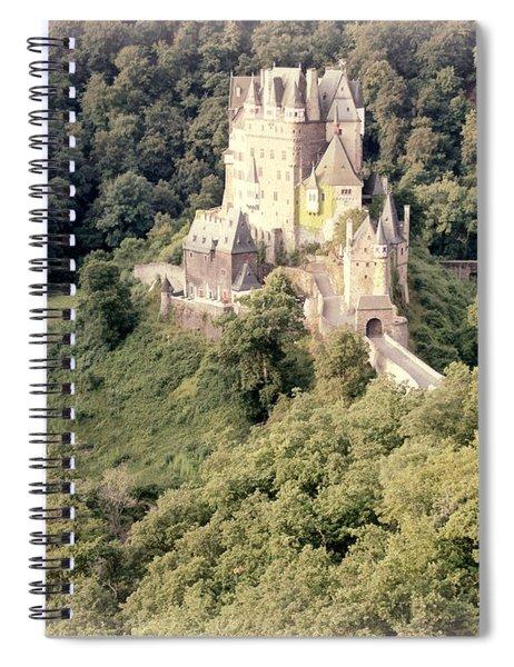 Burg Eltz - Watercolor Spiral Notebook