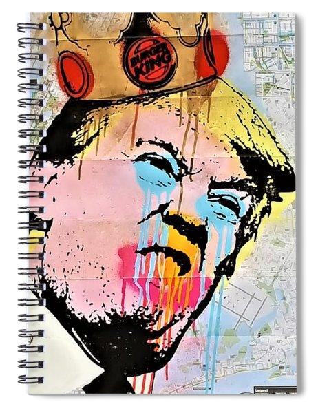 Burger King Trump Spiral Notebook