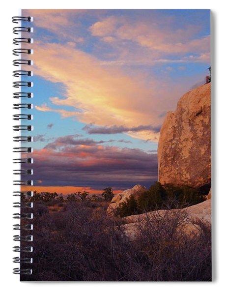 Burning Daylight Spiral Notebook