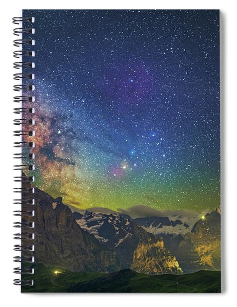 Burning Skies Spiral Notebook