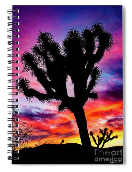 Burning Sky Spiral Notebook