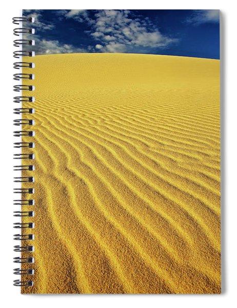 Burning Up At The White Sand Dunes - Mui Ne, Vietnam, Southeast Asia Spiral Notebook