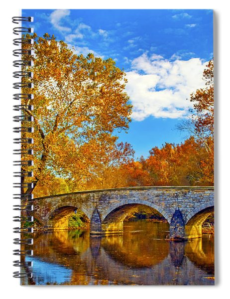 Burnside Bridge At Antietam Spiral Notebook