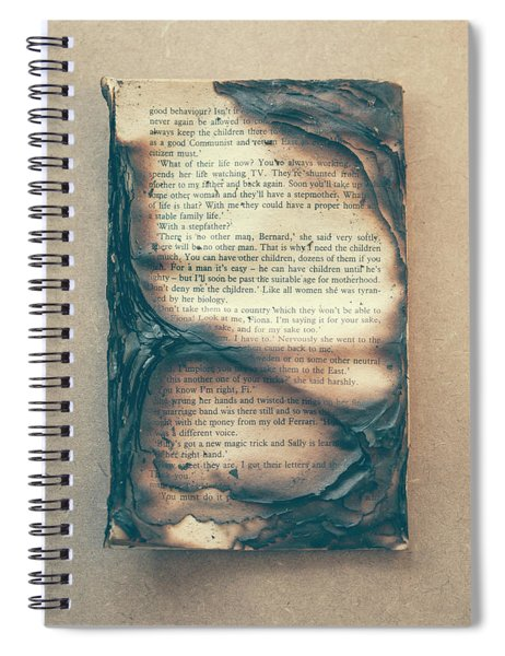 Burnt Book 01 Spiral Notebook