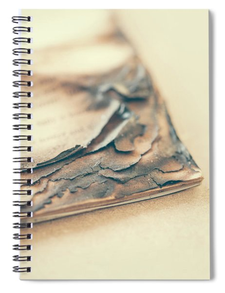 Burnt Book 02 Spiral Notebook