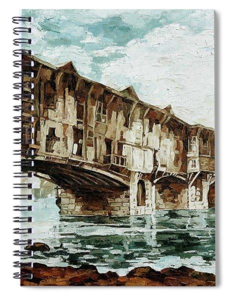 Burnt Covered Bridge Spiral Notebook