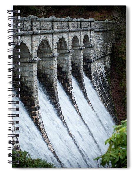 Burrator Reservoir Dam Spiral Notebook