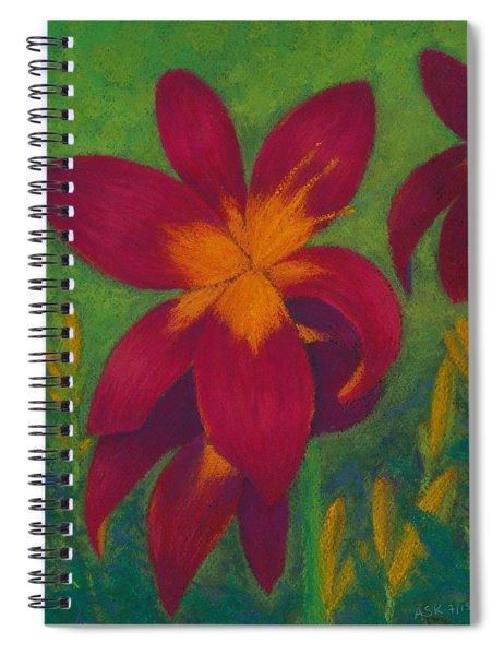 Burst Of Joy Spiral Notebook
