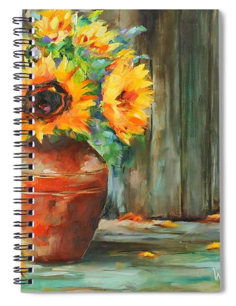 Bursts Of Sunshine Spiral Notebook