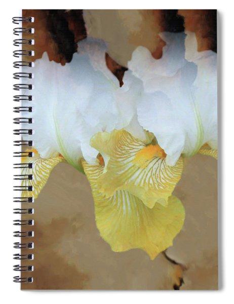 Burth Cloudy Paper Spiral Notebook