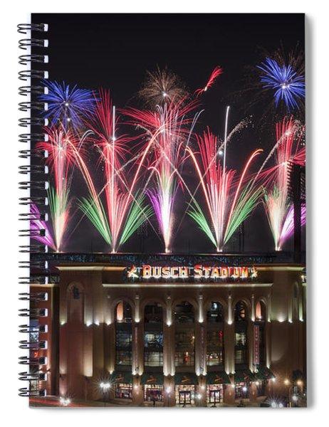 Busch Stadium Spiral Notebook