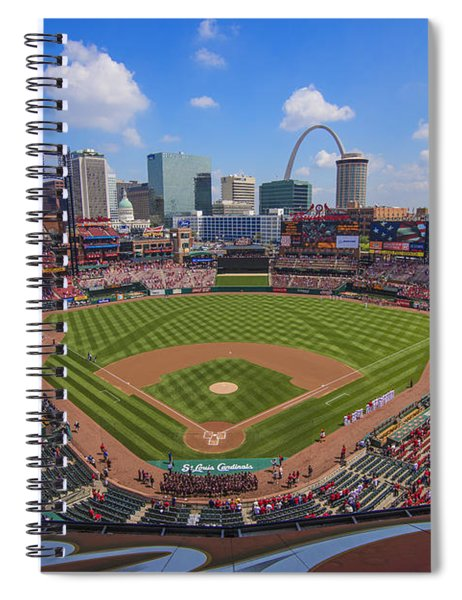 Busch Stadium St. Louis Cardinals Ball Park Village #3b Spiral Notebook