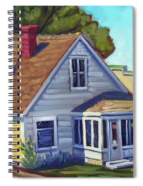Bushnell House - Eagle Idaho Spiral Notebook