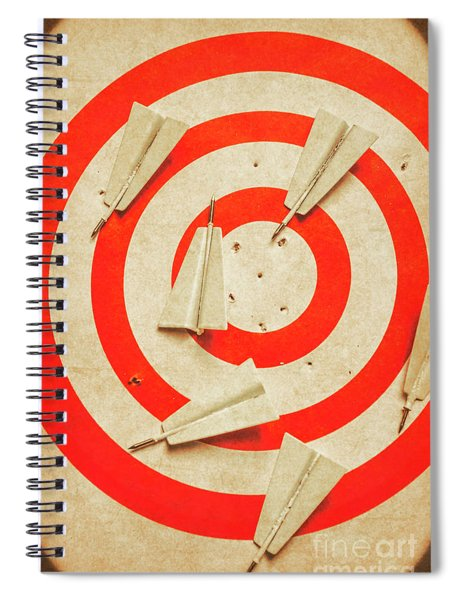 Business Target Practice Spiral Notebook