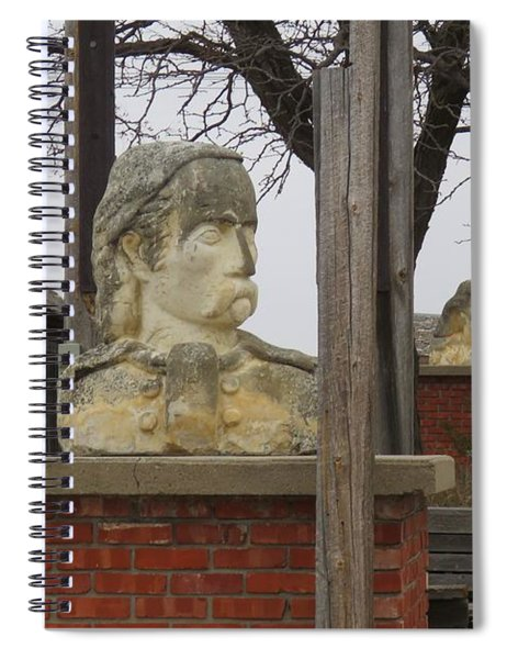 Busts In Frontier City Spiral Notebook