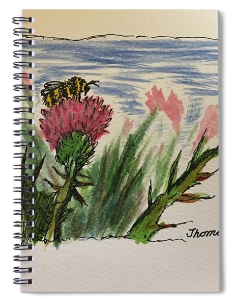 Busy Bumblebee  Spiral Notebook