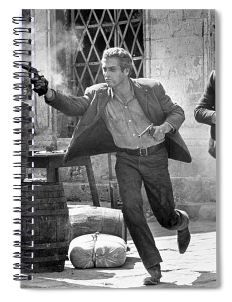 Butch Cassidy And The Sundance Kid - Newman And Redford Spiral Notebook