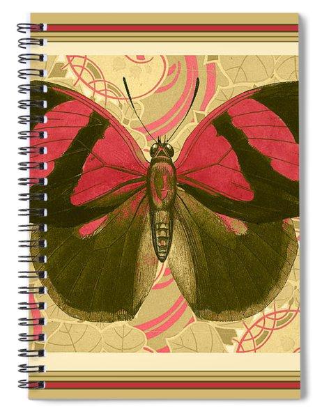 Butterfly 26 Spiral Notebook