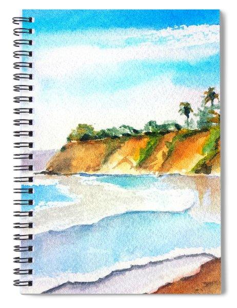 Butterfly Beach Santa Barbara Spiral Notebook