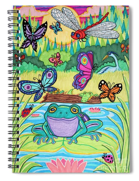 Butterfly Lake Spiral Notebook