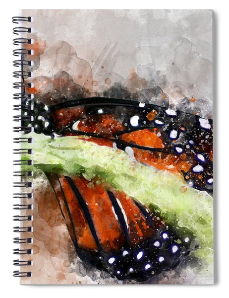 Butterfly Watercolor Spiral Notebook