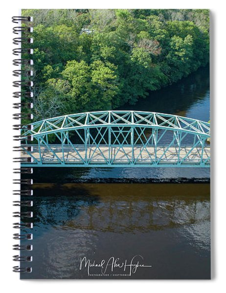 Butts Bridge Summertime Spiral Notebook