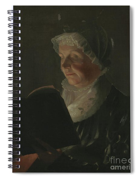 By Candlelight Spiral Notebook