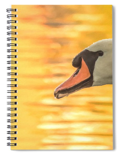 Spiral Notebook featuring the photograph By Dawn's Light by Garvin Hunter