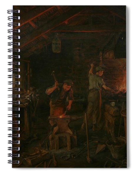By Hammer And Hand All Arts Doth Stand Spiral Notebook