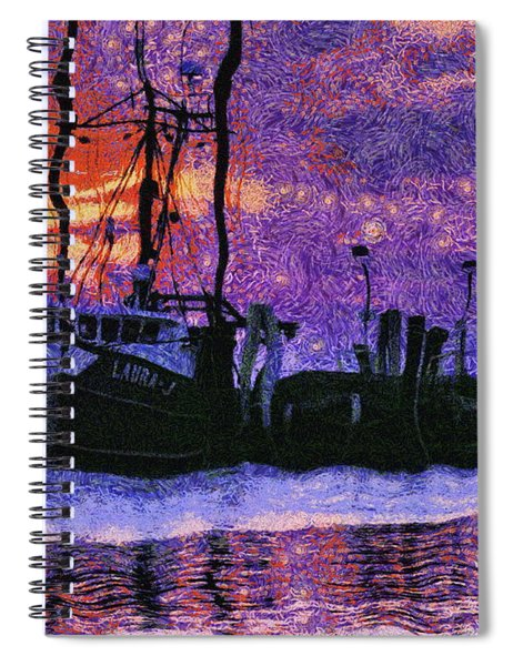 By The Dawn's Early Light  Spiral Notebook