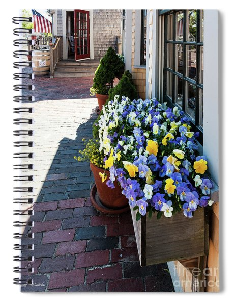 By The Nantucket Boat Basin Spiral Notebook