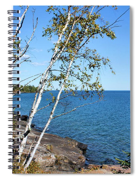 By The Shores Of Gitche Gumee Spiral Notebook