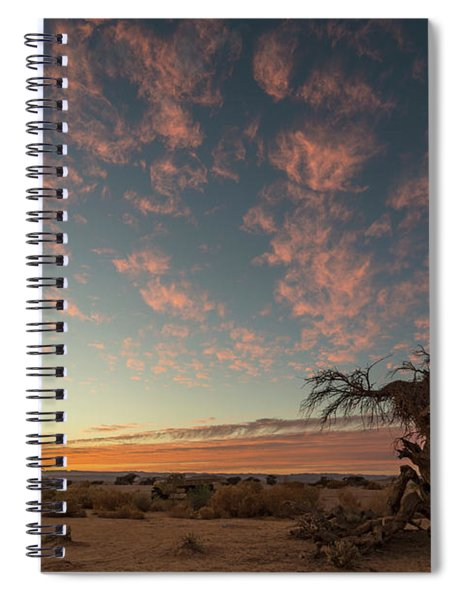 Spiral Notebook featuring the photograph Bye Bye To Sunset by Arik Baltinester