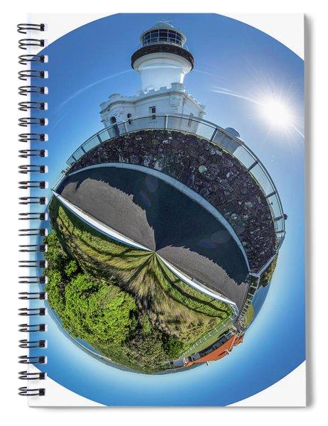 Byron Bay Lighthouse Spiral Notebook