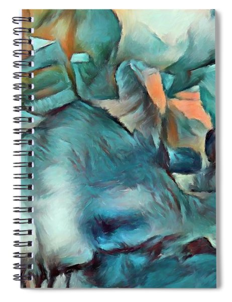 Byzantine Abstraction Spiral Notebook