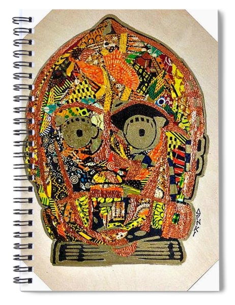 C3po Star Wars Afrofuturist Collection Spiral Notebook