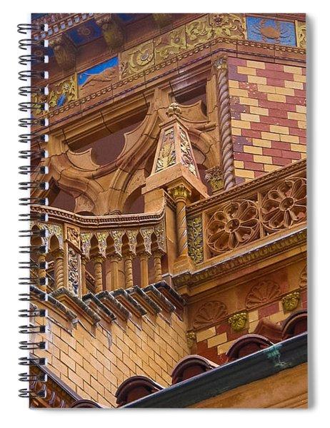 Ca' D'zan Detail Spiral Notebook