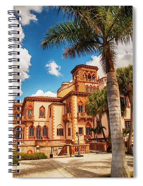 Ca' D'zan Spiral Notebook