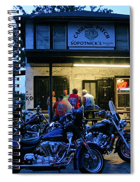 Cabbage Patch Bikers Bar Spiral Notebook