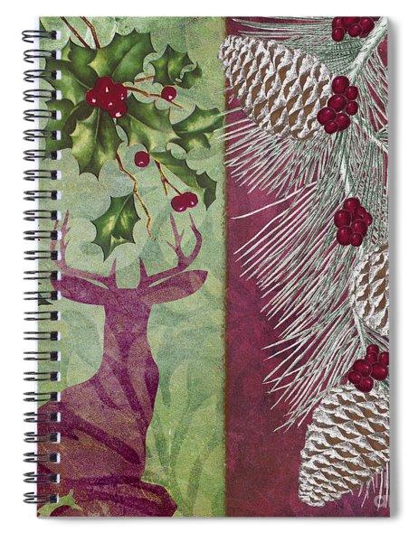 Cabin Christmas I Spiral Notebook