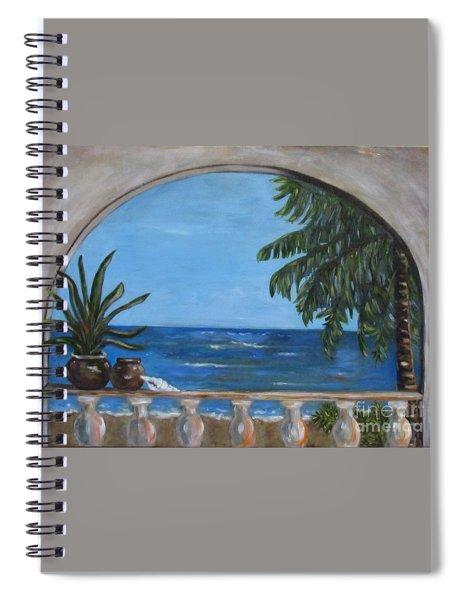 Cabo Arch #2 Spiral Notebook
