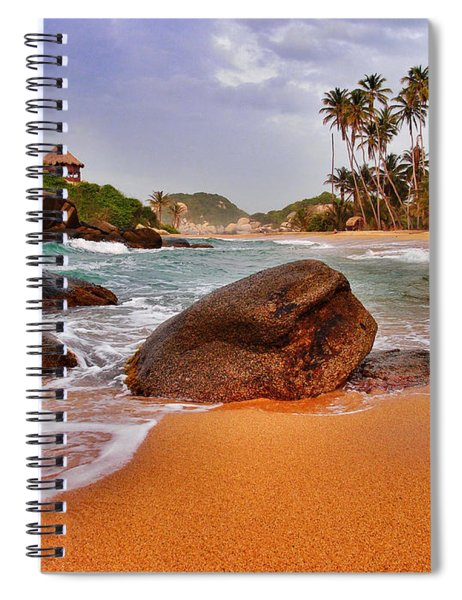 Spiral Notebook featuring the photograph Cabo San Juan by Skip Hunt