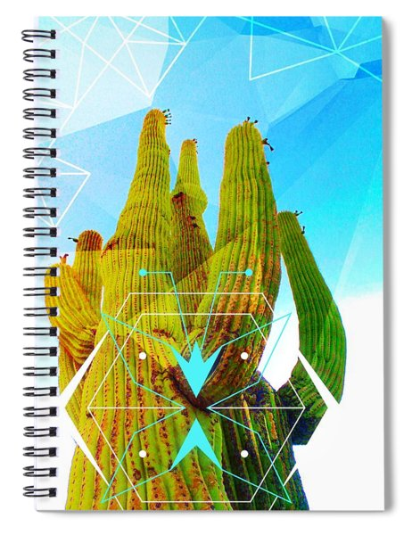 Cacti Embrace Spiral Notebook