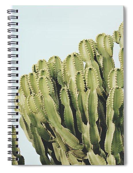 Cactus And Sky Vintage II Spiral Notebook