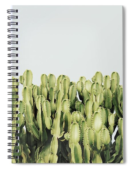 Cactus And Sky Vintage IIi Spiral Notebook
