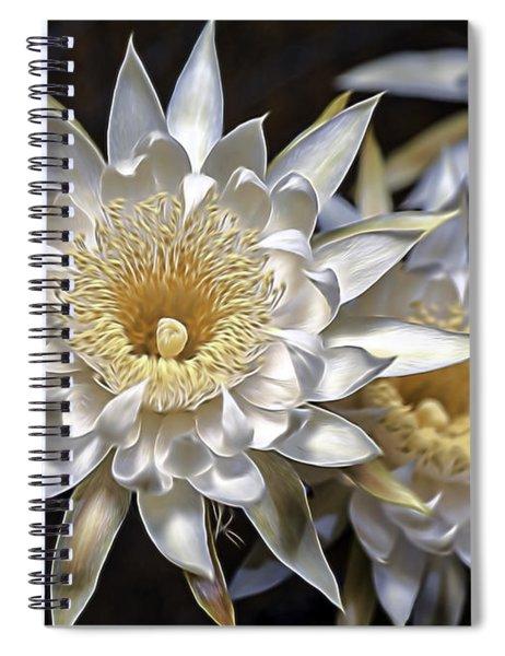 Cactus Art Spiral Notebook