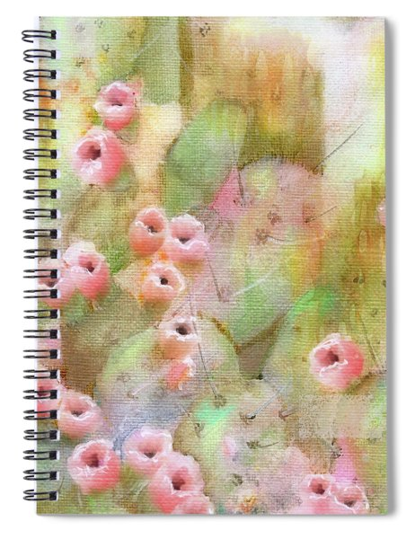 Cactus Rose Spiral Notebook