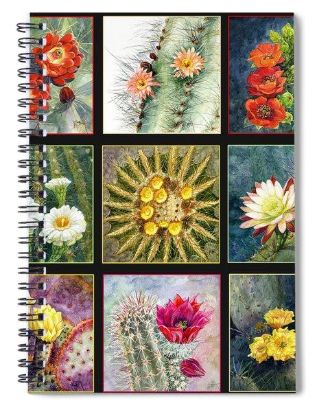Cactus Series Spiral Notebook