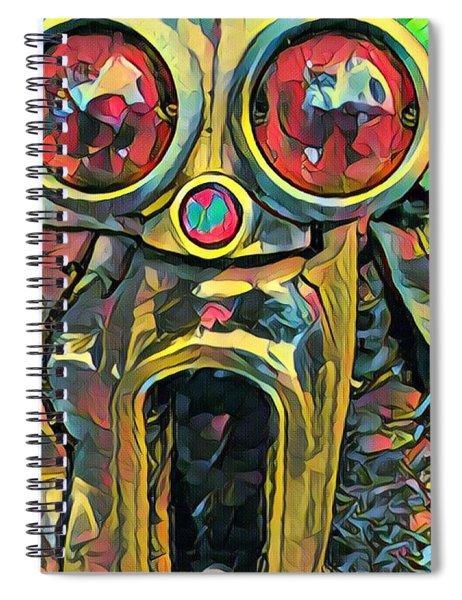 Cadillacasauraus Spiral Notebook