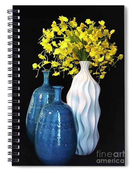 Cadmium Cluster Spiral Notebook by Rick Locke